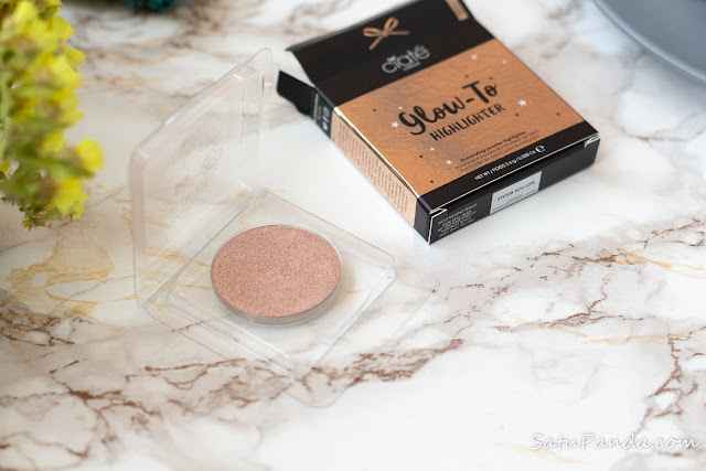 CIATÉ LONDON Glow-To Highlighter in Moondust