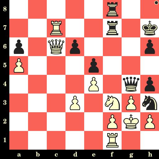 Les Noirs jouent et matent en 4 coups - Jose Reis Veiga vs Grigoriy Oparin, Evora, 2019
