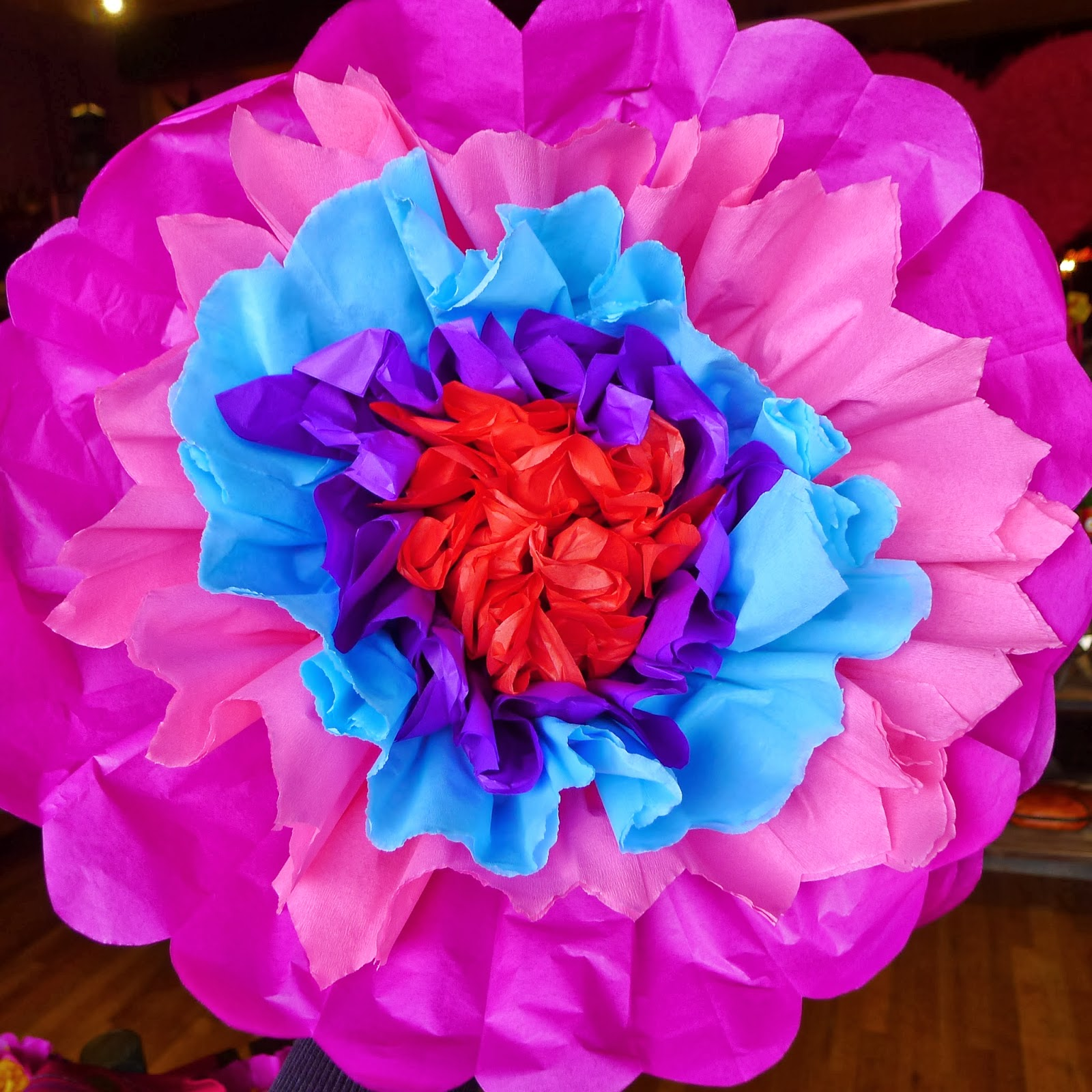 How to Make a Giant Magical Paper Flower Poppy Garden
