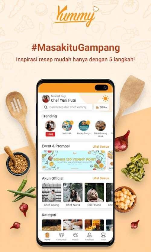4 Aplikasi yang Bisa Kamu Gunakan untuk Mendapatkan Resep Masakan
