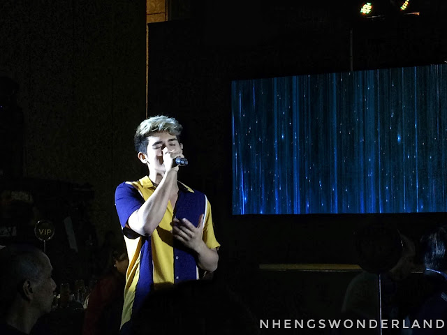 Inigo Pascual singing Kaakbay