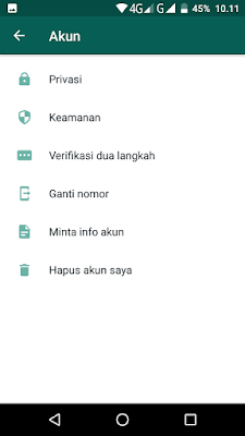 Download WhatsApp With FingerPrint Lock Versi 2.19.221 Beta for Android Terbaru (Kunci Sidik Jari)