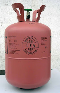 standard tekanan freon R410a