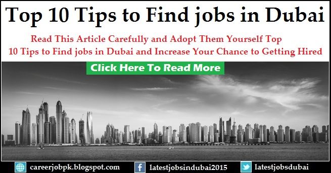 Find jobs in Dubai