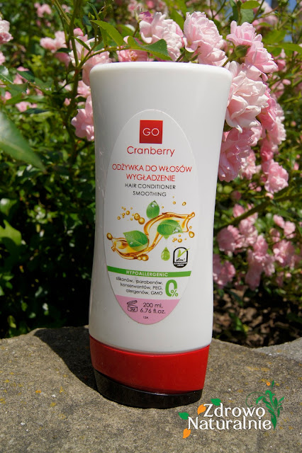 GoCranberry - Odżywka do włosów wygładzenie