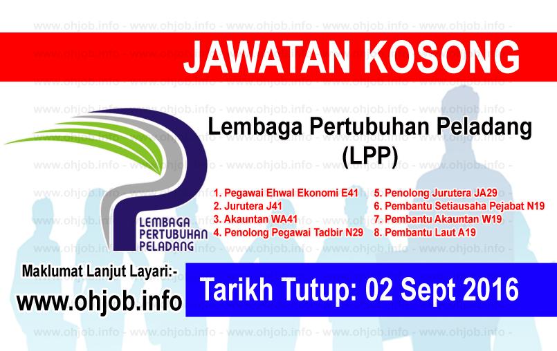 Jawatan Kerja Kosong Lembaga Pertubuhan Peladang (LPP) logo www.ohjob.info september 2016