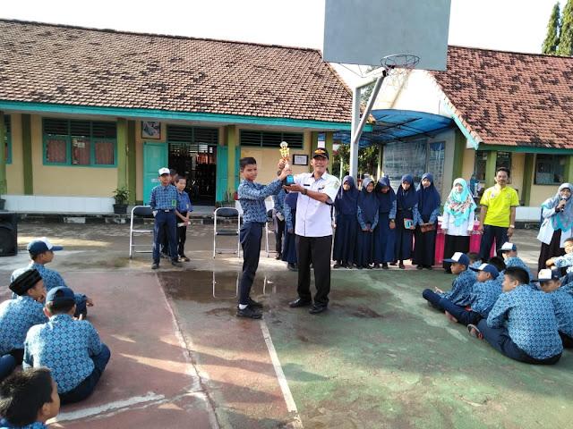 SMPN 1 Model Babat Toman Juara Pangkalan Terfavorit se Kabupaten Muba