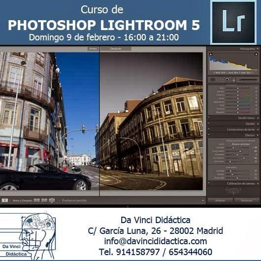 Nuevo curso de edición de fotografía digital con Photoshop Lightroom 5