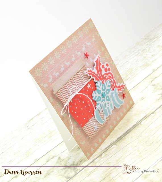 Dana Warren - Kraft Paper Stamps - Cas-ual Fridays Stamps - Coffee