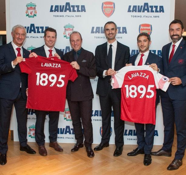 A marca italiana de café Lavazza anunciou nesta quarta-feira (31) um acordo  regional com dois dos mais tradicionais clubes da Premier League 1c62f47d0e7ca