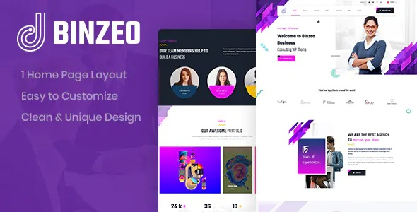 Best Consulting PSD Template