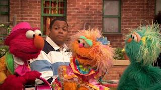 Chris, Elmo, Rosita, Zoe, Sesame Street Episode 4408 Mi Amiguita Rosita season 44