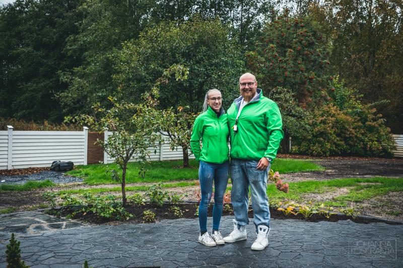 Puutarhasuunnitelmamme toteutus - Lauran Pihasuunnittelu