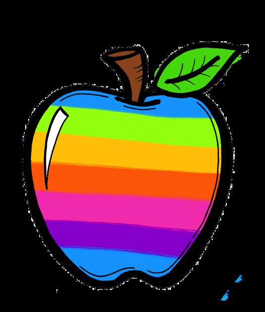 creative chalkboard free rainbow