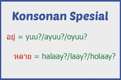 Special, spesial, consonant, konsonan, thailand, thai
