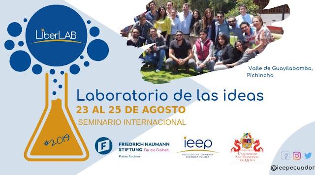 Laboratorio de las Ideas llega a Ecuador