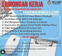 Bursa Kerja Surabaya di Xellano Store Juni 2020