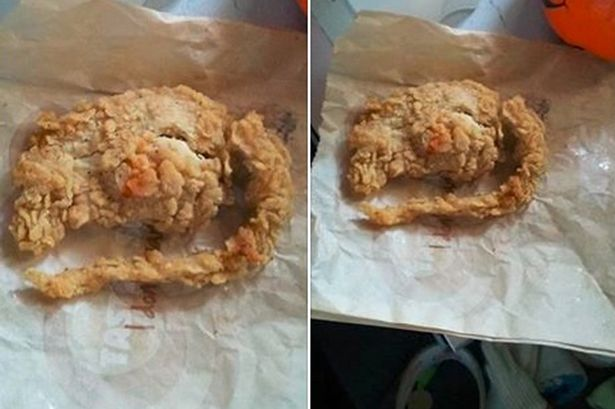 so called KFC's 'deep fried rat'