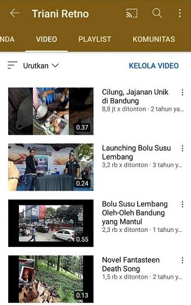Youtube Blogger Bandung