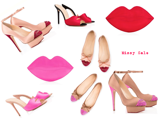 Lip print SS 2016 Kiss & Make Up Charlotte Olympia
