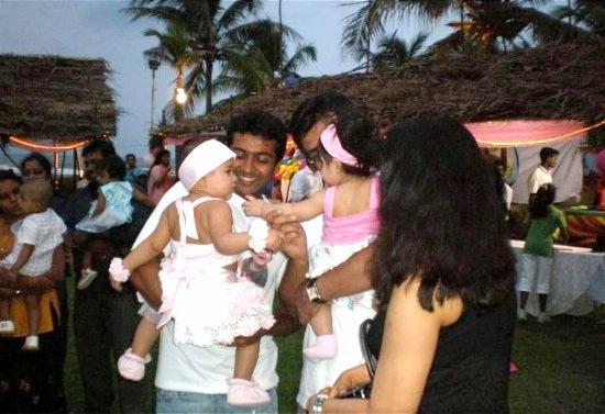 Tamil Actor Surya Daughter Diya Birthday Photos