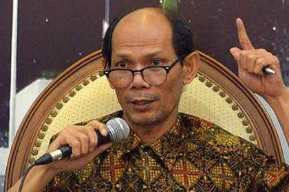 Ichsanuddin Noorsy: Pemerintah Sering Terkecoh Pada Angka Pendapatan, Bukan Efek Domino