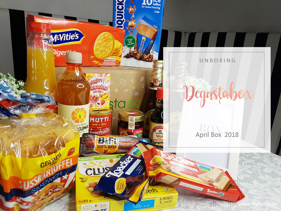 Degustabox - April 2018 - unboxing