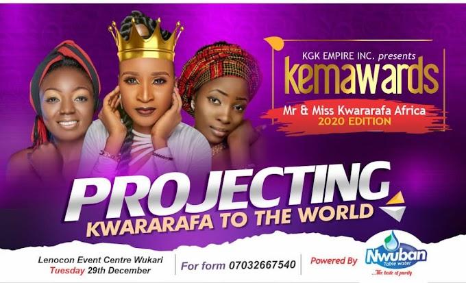 KEMA Awards & Kwararafa Beauty Pageant 2020 Full Details