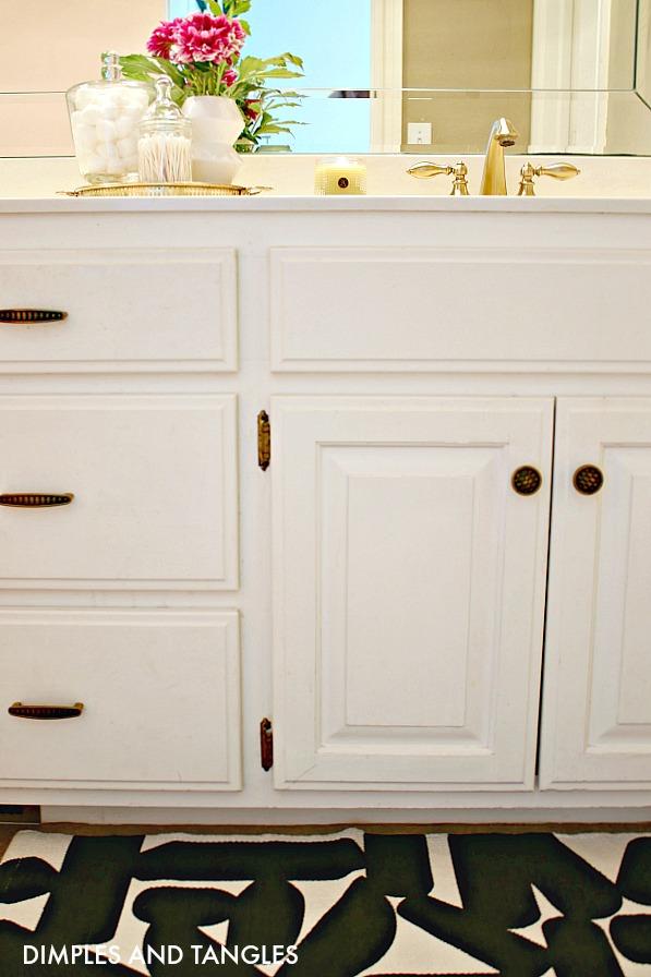 bathroom under sink cabinet drawer