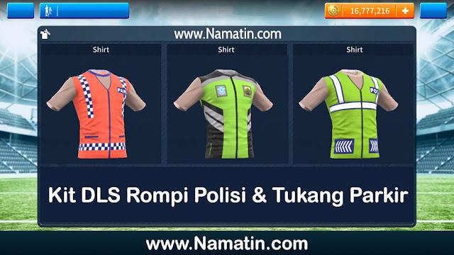Kit Dream League Soccer Rompi Polisi