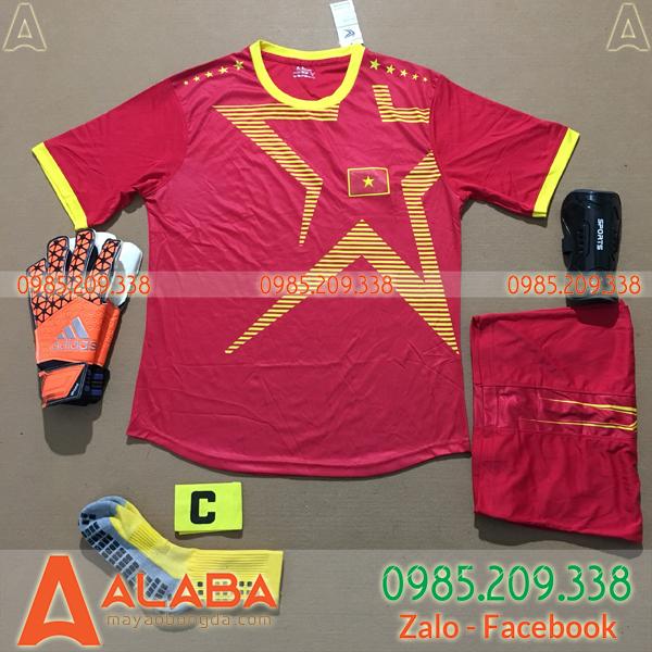 Áo Việt Nam 2020 Training 15 Màu Đỏ
