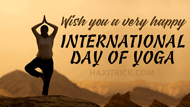 Wish You a Very Happy International Day of Yoga Images Download