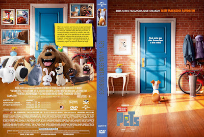 Filme Pets - A Vida Secreta dos Bichos (The Secret Life of Pets) DVD Capa