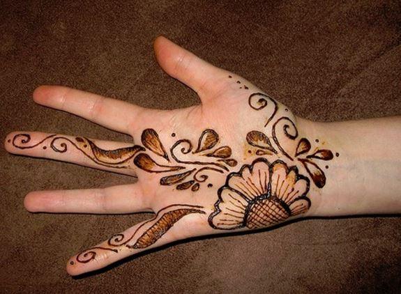 Henna Mehndi Love : Easy mehndi designs for your kid s hands bling sparkle