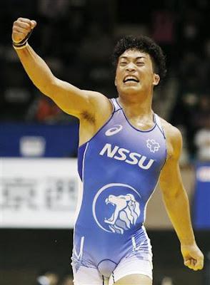 レスリングで銀メダルを獲得した大田忍選手