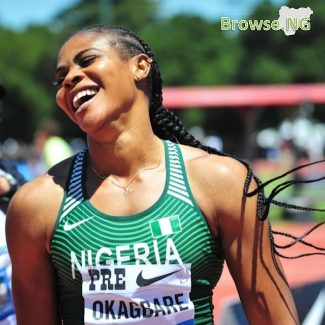 Nigerian Athlete, Blessing Okagbare Beats Usain Bold To Become A Guinness World Record Holder