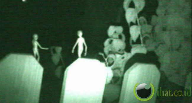 Alien Terfoto di Meksiko