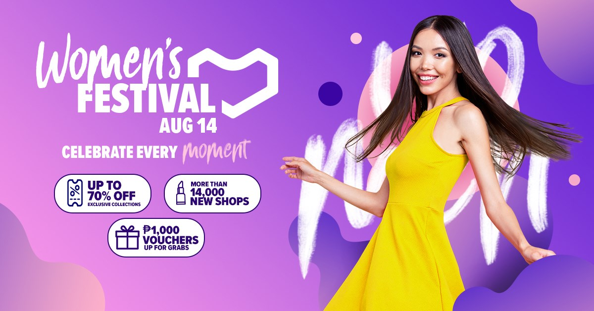 Lazada Philippines Launches Its 2nd Women's Festival