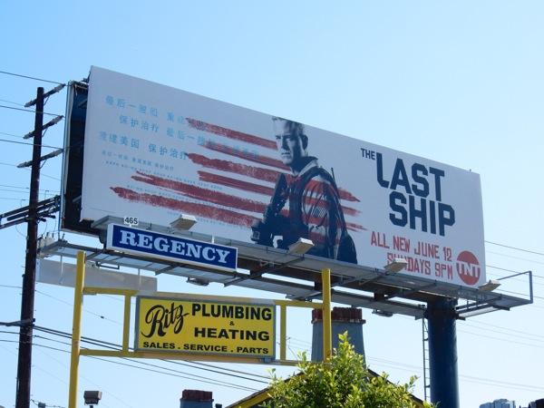 Last Ship season 3 billboard
