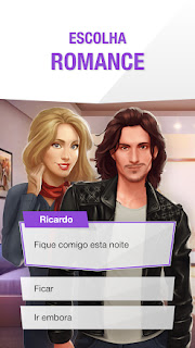 Melhor jogo de romance para Android com Estrelas Infinitas