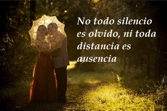 Imagenes De Amor Con Efectos: No Todo Silencio Es Olvido, Ni Toda Distancia Es Ausencia