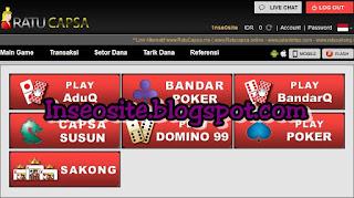 | InSeoSite | CapsabandarQ.com Capsa Online, Agen Bandar Q, Domino 99, Qiu Qiu Online, BandarQ