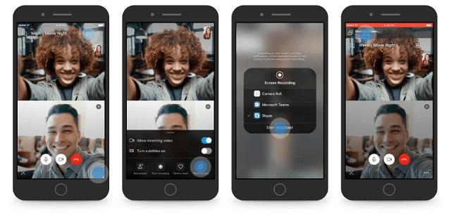 ميزة مُشاركة الشاشة متوفرة الأن على تطبيق سكايب للأندرويد وiOS