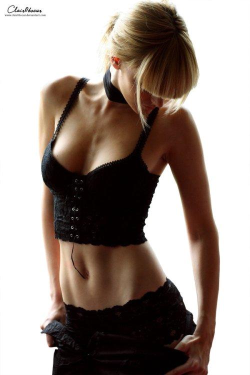 Stéphanie Pitino ClairObscur deviantart fotografia mulheres modelos beleza