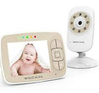 "Baby Monitor -Video Baby Monitor with 3.5"" LCD Screen"