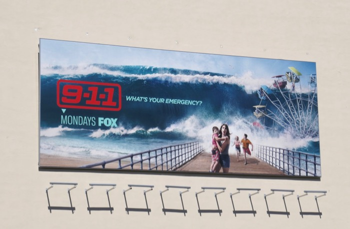 911 season 3 tsunami billboard