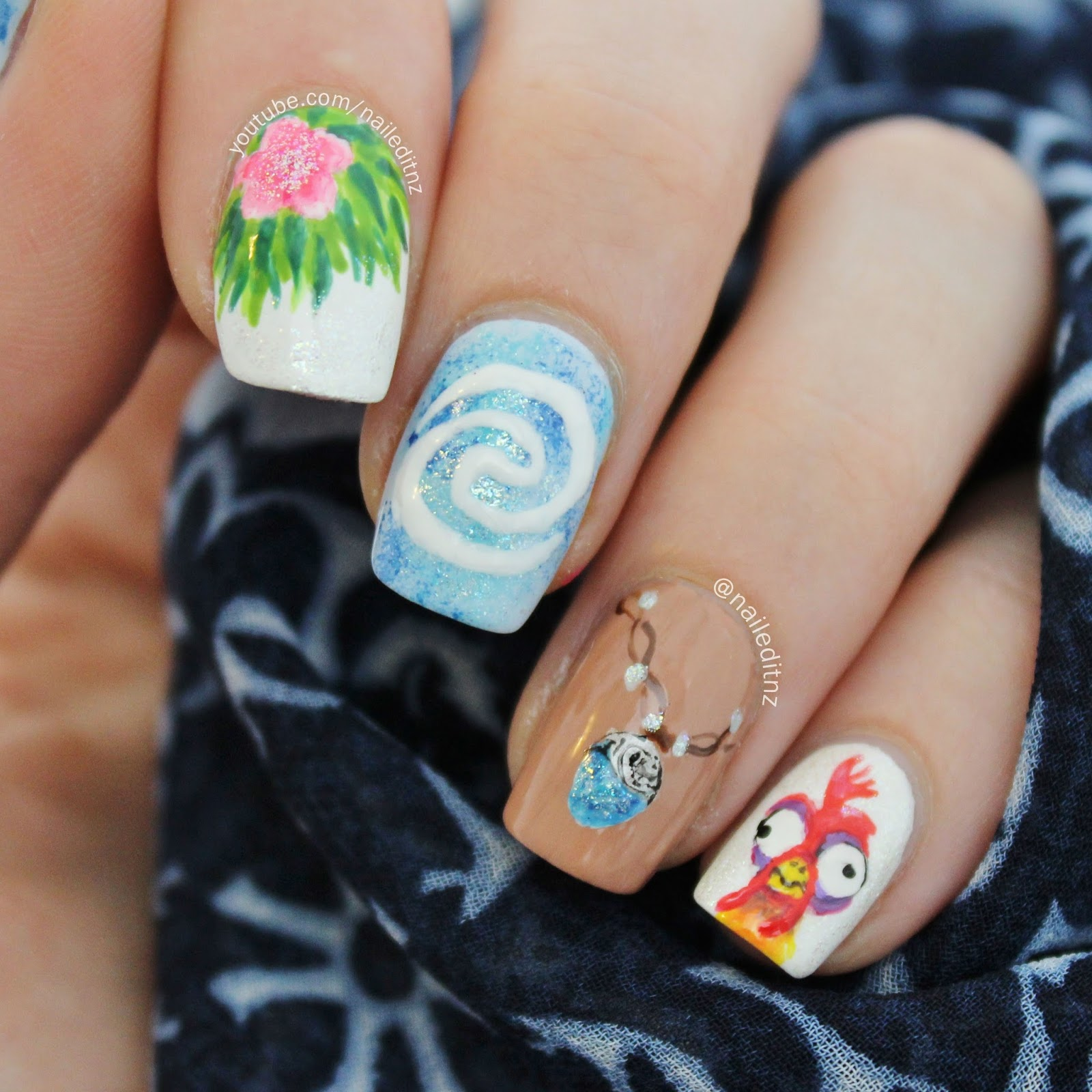 Moana, Magic & Love Nail Art, Plus Exciting Shop Update!