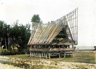 rumah bolon rumah adat batak yang belum selesai