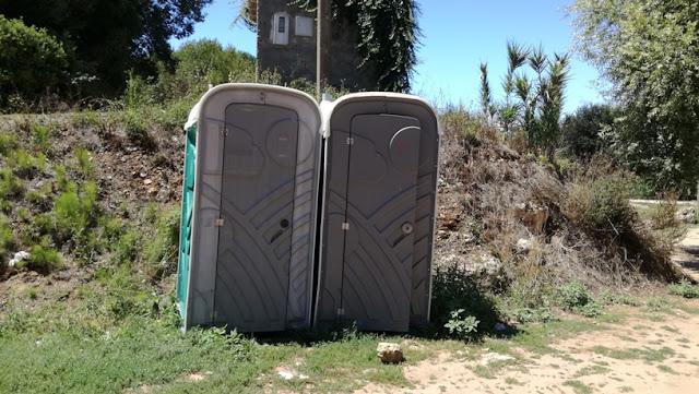 Casas de banho portáteis