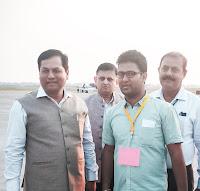 Pranab Kr Nath: Picture taken with Assam CM